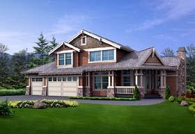 Craftsman House Plan 87547 Elevation