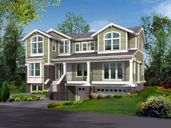 Traditional House Plan 87548 Elevation