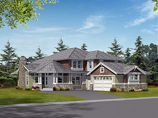 Craftsman House Plan 87549 Elevation