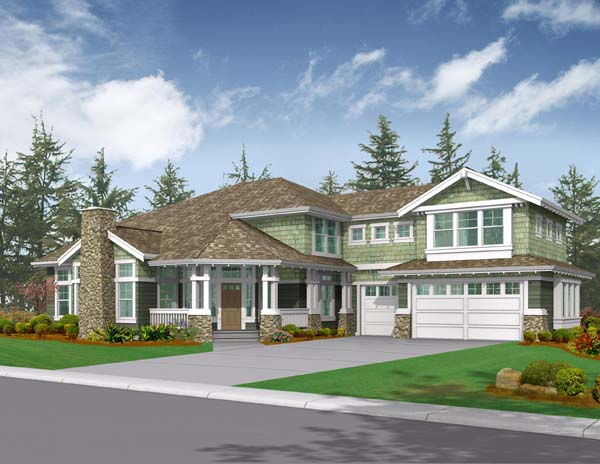 Craftsman House Plan 87561 Elevation