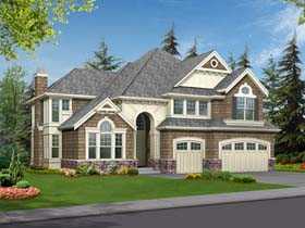 Traditional House Plan 87562 Elevation