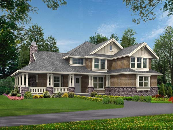 Country Farmhouse House Plan 87564 Elevation