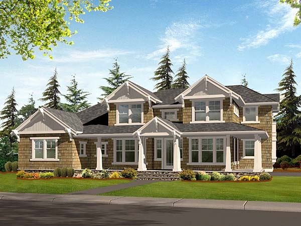 Craftsman House Plan 87566 Elevation
