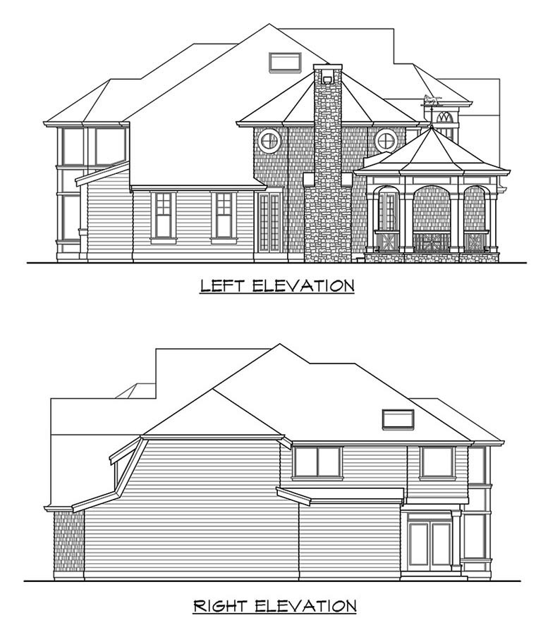 Victorian House Plan 87569