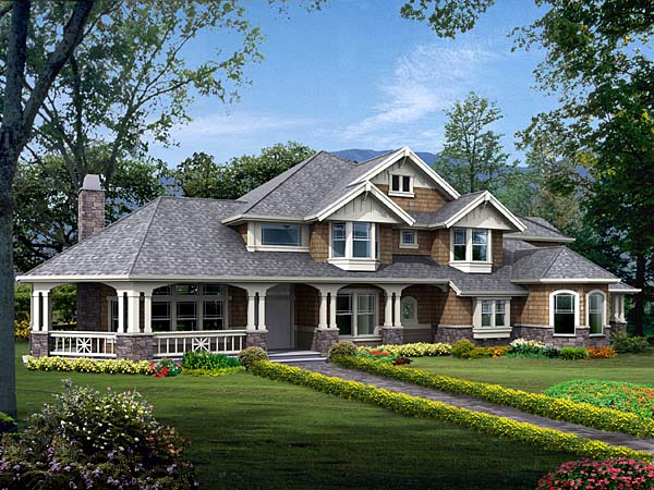 Beautiful exterior rendering.