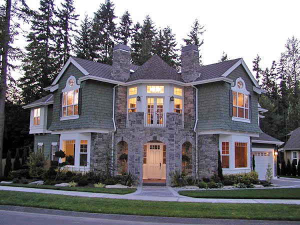 Cape cod craftsman victorian house plan 87584 for Victorian traditional homes