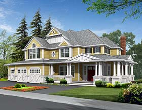 Plan Number 87585 - 4430 Square Feet