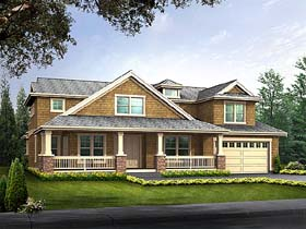 Bungalow House Plan 87590 Elevation