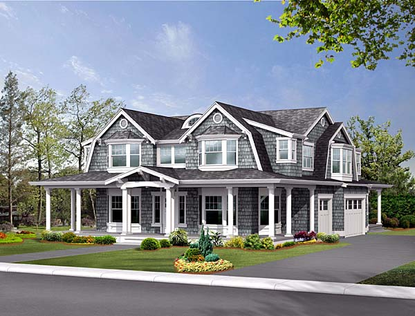 Craftsman House Plan 87591 Elevation