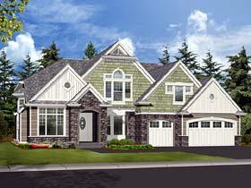 Craftsman House Plan 87593 Elevation