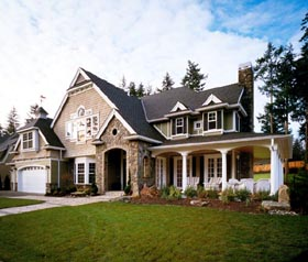 Craftsman House Plan 87606 Elevation