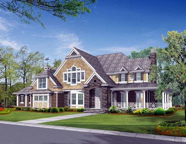 Craftsman House Plan 87607 Elevation