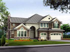 Traditional House Plan 87610 Elevation
