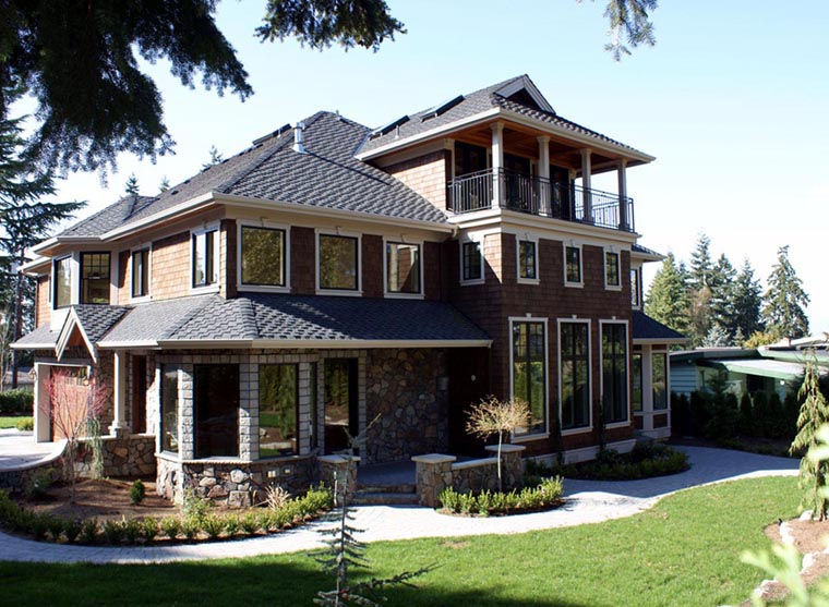 Colonial Traditional House Plan 87615