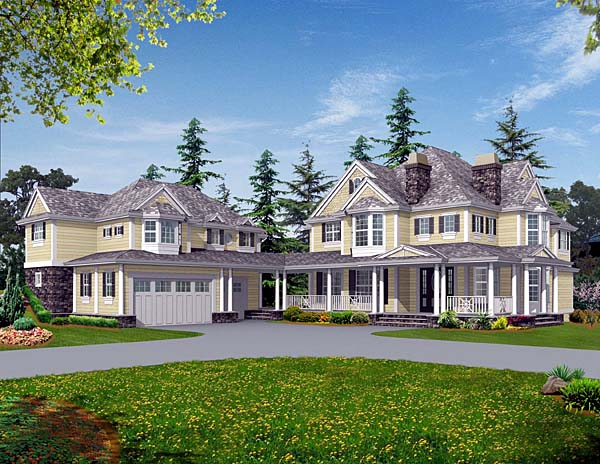 Country Farmhouse House Plan 87616 Elevation