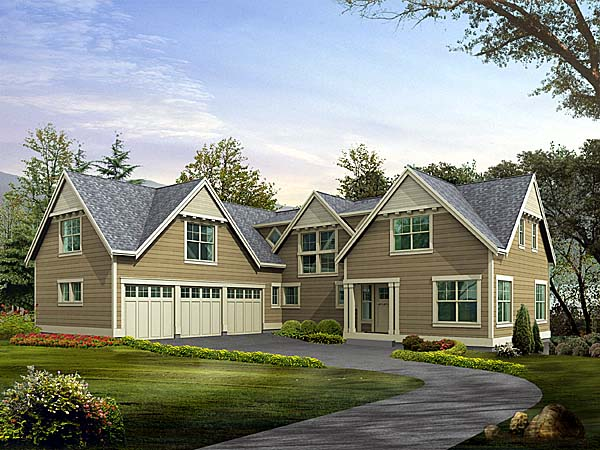Traditional House Plan 87620 Elevation