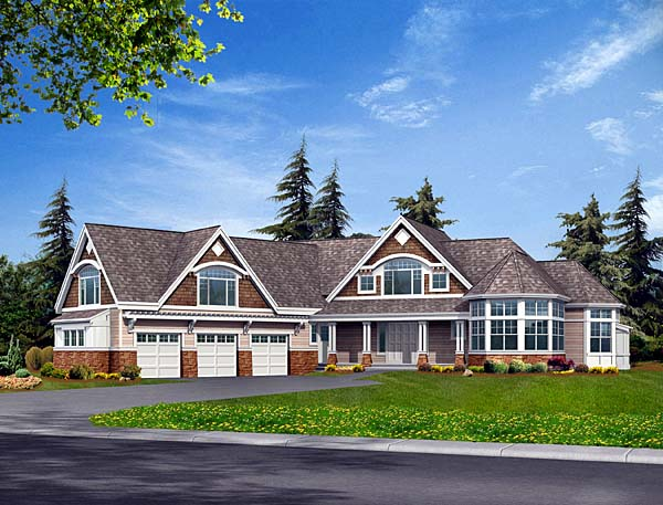 Traditional House Plan 87624 Elevation