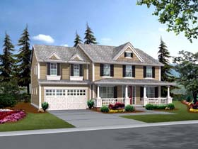 Traditional House Plan 87628 Elevation