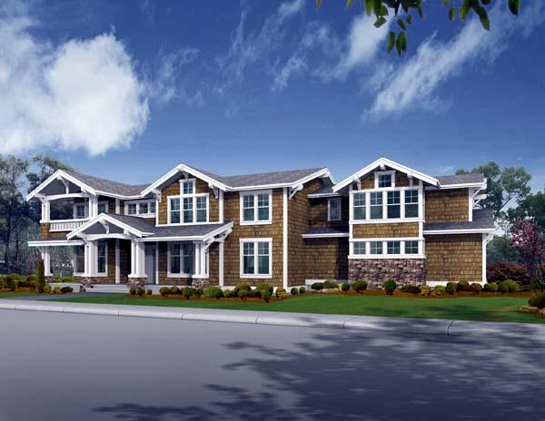 Craftsman House Plan 87634 Elevation