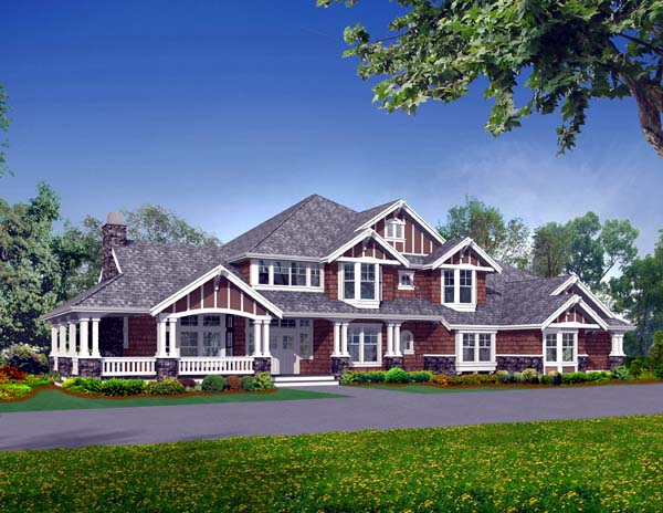 Craftsman House Plan 87635 Elevation