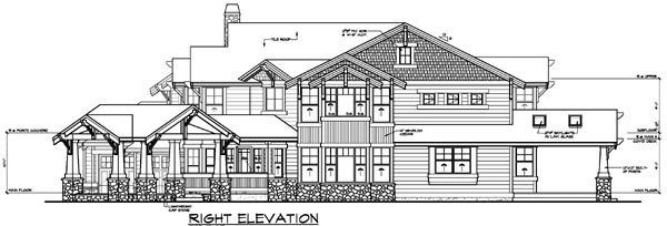 Contemporary House Plan 87637 with 4 Beds, 6 Baths, 3 Car Garage Picture 2
