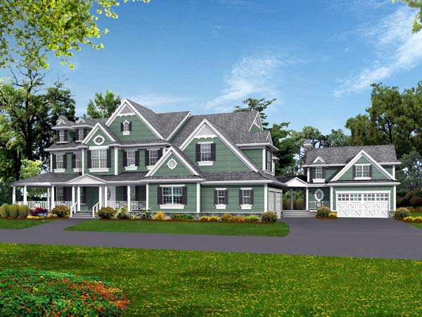 Country Farmhouse House Plan 87638 Elevation