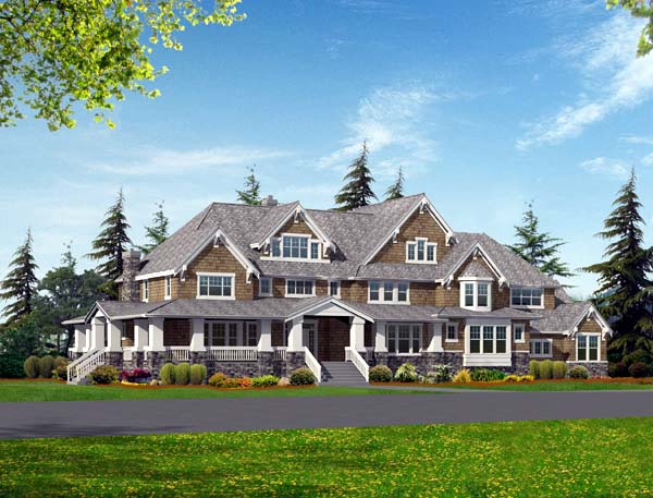 Craftsman House Plan 87640 Elevation