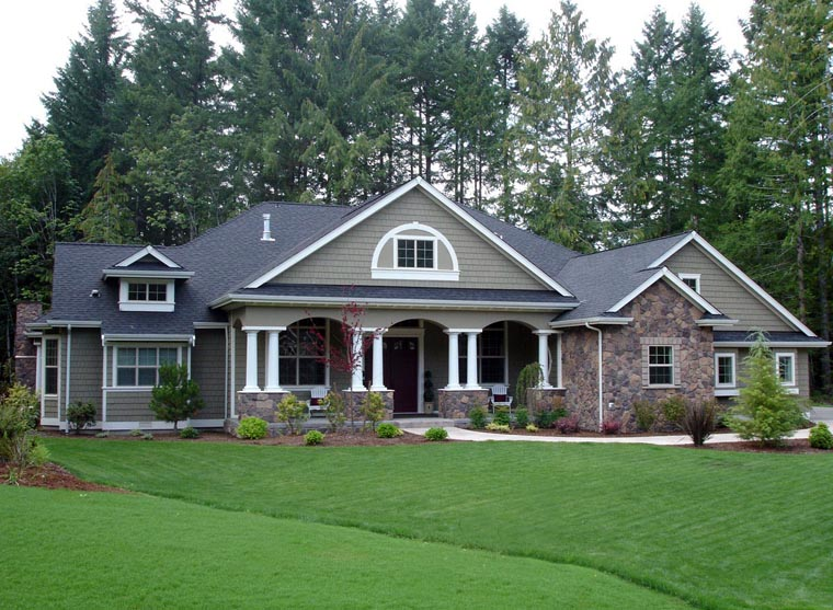 Amazing Country Craftsman Home Plans #2: Click Here To See The Complete Photo Gallery ***