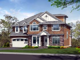 Colonial Traditional House Plan 87647 Elevation