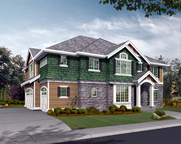 Traditional House Plan 87649 Elevation