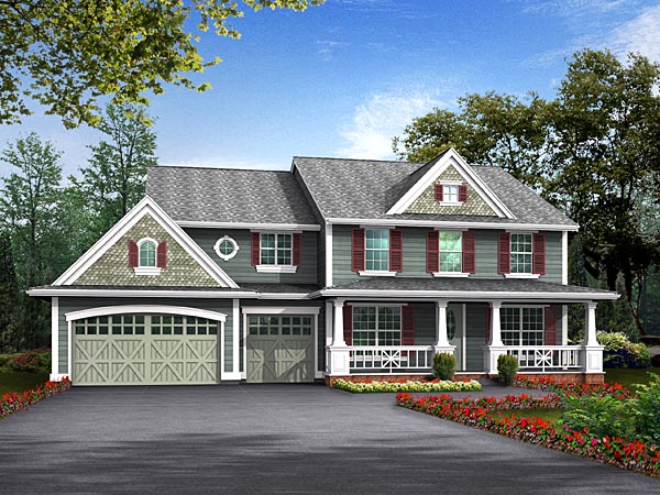 Country House Plan 87651 Elevation