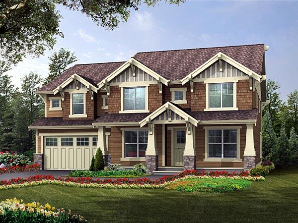Craftsman House Plan 87653 Elevation