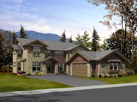 Traditional House Plan 87656 Elevation