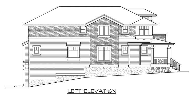 Craftsman House Plan 87658