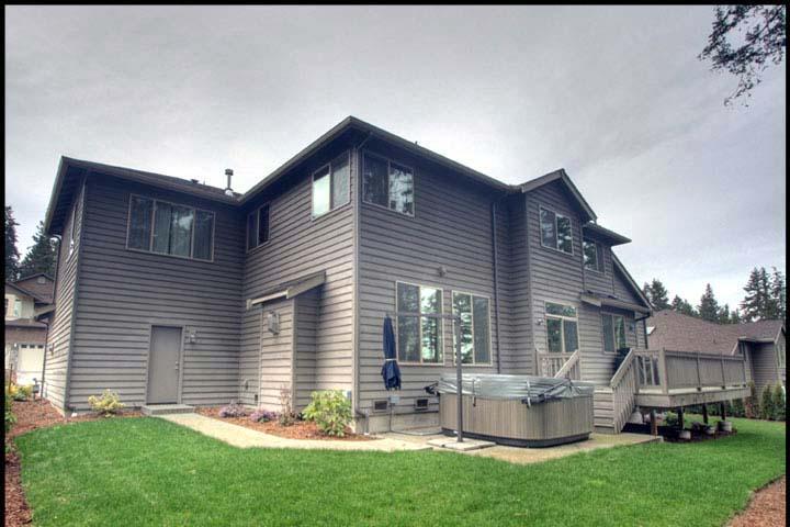 Craftsman House Plan 87665 with 5 Beds, 4 Baths, 3 Car Garage Rear Elevation