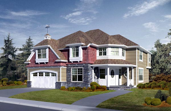 House Plan 87674 Elevation