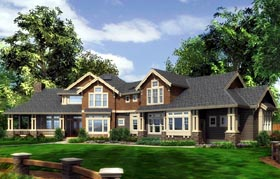 House Plan 87675 Elevation