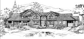 House Plan 87676 Elevation