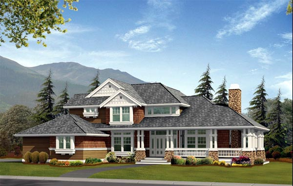Craftsman House Plan 87678 Elevation