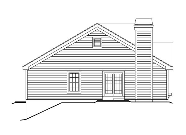 Cottage, Country, Ranch, Traditional House Plan 87800 with 2 Beds, 2 Baths, 2 Car Garage Picture 1