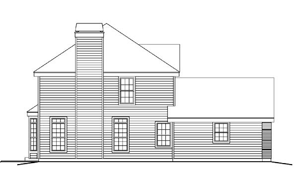 Country, Traditional House Plan 87802 with 4 Beds, 3 Baths, 2 Car Garage Picture 1