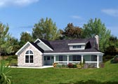 Plan Number 87806 - 801 Square Feet