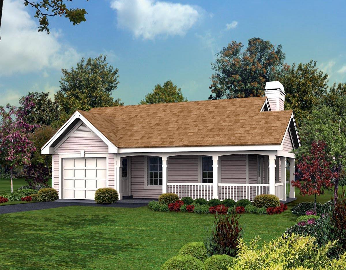 House Plan 87813 At