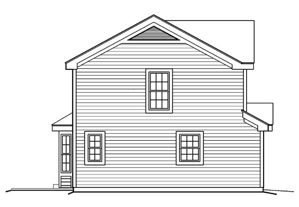 Country, Traditional House Plan 87819 with 2 Beds, 3 Baths, 1 Car Garage Picture 1