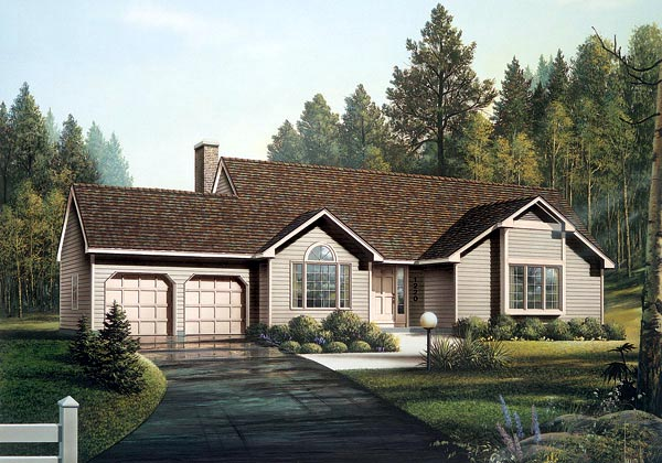 Ranch House Plan 87821 Elevation