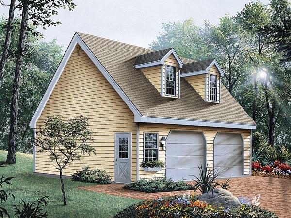 Garage Plan 87823 Elevation