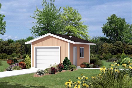 Garage Plan 87827 Elevation