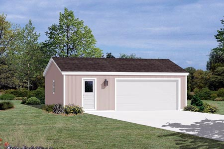 Garage Plan 87829 Elevation