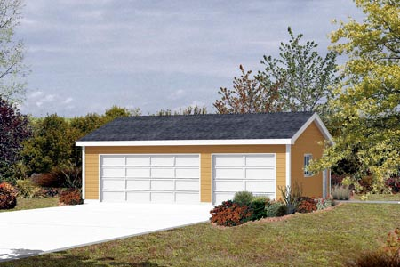 Garage Plan 87833 Elevation