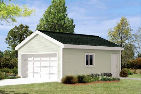 Garage Plan 87835 Elevation